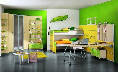 màu sơn phòng bé trai