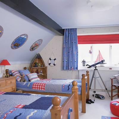 một số mẫu sơn phòng cho bé trai 5